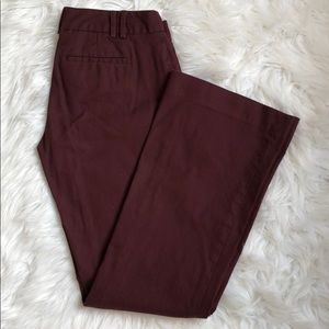 Maroon Martin fit work pants